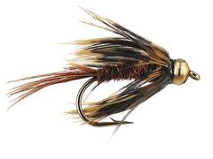Pheasent Soft Hackle Grey 10