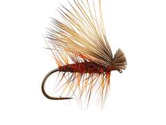 Red Superb Elk Hair Caddis 12