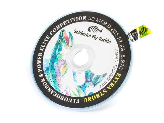 Fluorocarbone S-POWER ELITE COMPETITION - 50 m