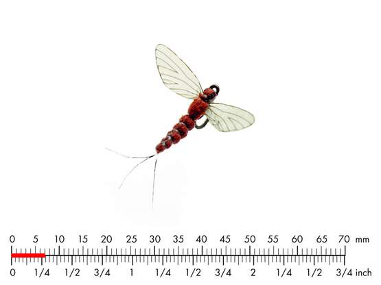 Mayfly Spent 5 Rust Red 7mm