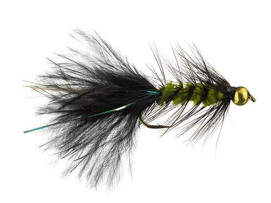 Pure Wooly Bugger Olive Black