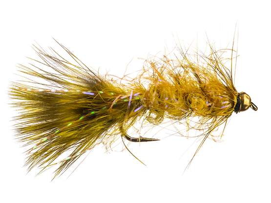 Grizzly Wooly Bugger Yellow