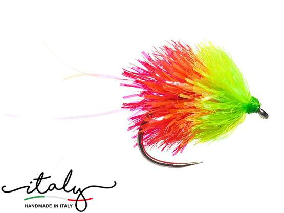 Blob Mix Fluo Chartreuse Red BL